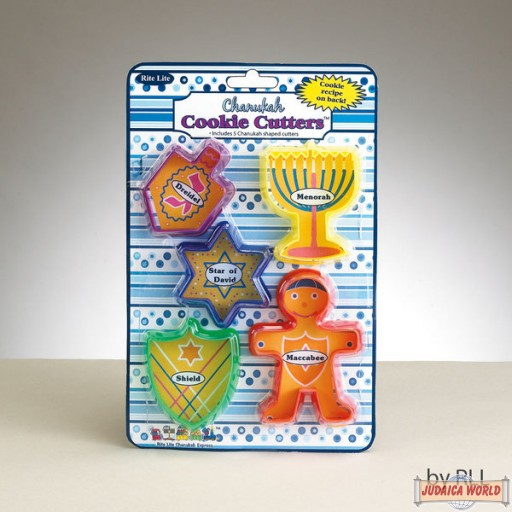 Chanukah Cookie Cutters 5 Pc.