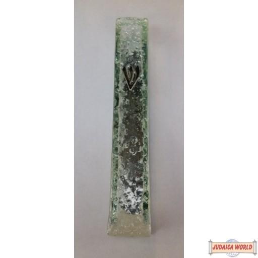Glass Mezuza Case 10cm
