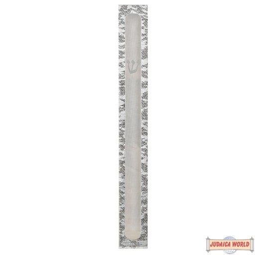 PERSPEX MEZUZAH Case 10 CM WITH PRINTED SHIN AND FRAME