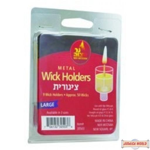 Metal Wick Holders - Large