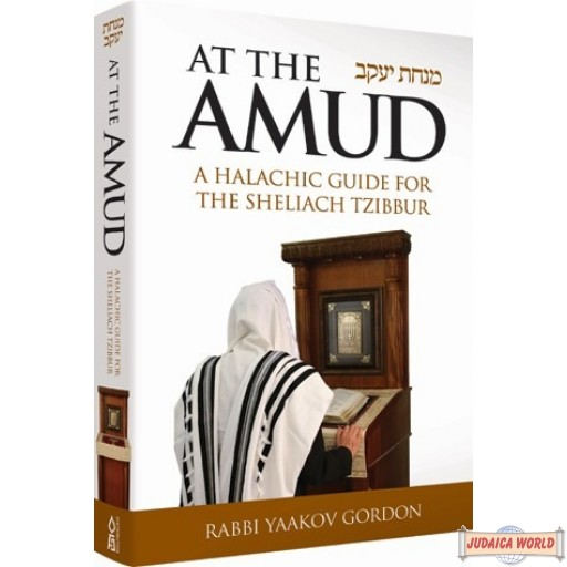 At the Amud, A Halachic Guide for the Sheliach Tzibbur