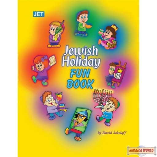 My Around the Year Jewish Holiday Fun Book