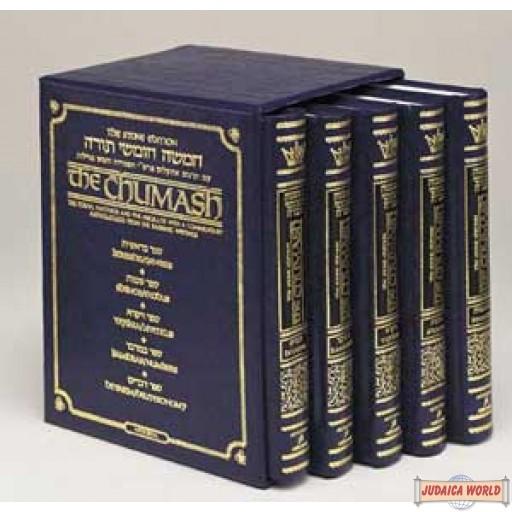 Stone Edition Chumash Mid -size / 5- Volume Set