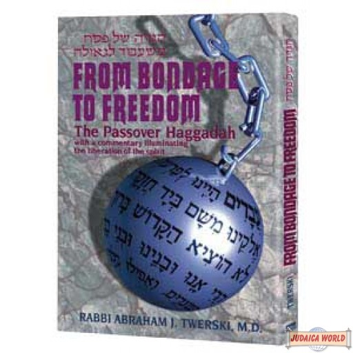 Haggadah From Bondage To Freedom - Hardcover