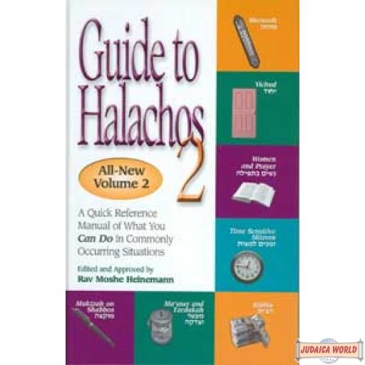 Guide to Halachos Vol 2