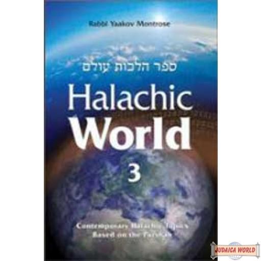 Halachic World #3