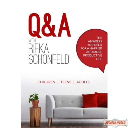 Q & A With Rifka Schonfeld, The Answers You Need For A Happier & More Productive Life