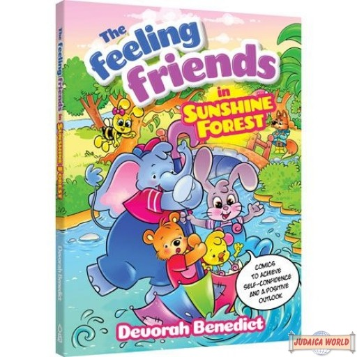 Feeling Friends In Sunshine Forest, Comics To Achieve Self-Confidence & Positive Outlook