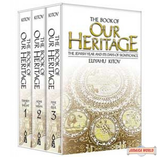 Book of Our Heritage: Pocket Edition 3 Vol. Set