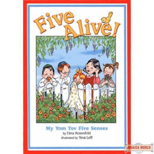 Five Alive!  My Yom Tov Five Senses