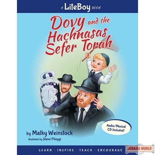 Lite Boy #4 - Dovy and the Hachnasas Sefer Torah Book/CD