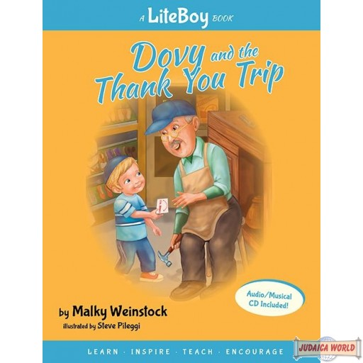 Lite Boy #5 -Dovy and the Thank You Trip Book/C.D.