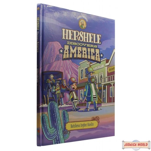 Hershele Discovers America - Comics