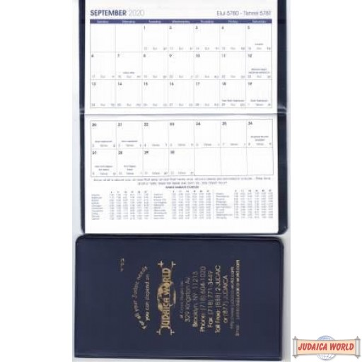 5781 Pocket Daily Memo Calendar 2020-21