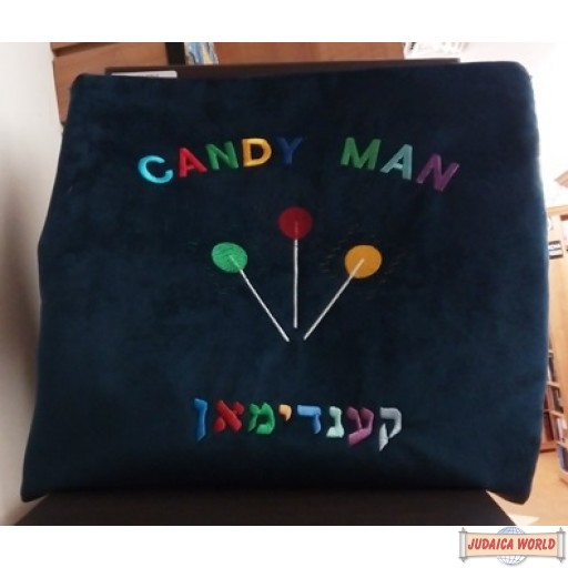Candy Man velvet bag