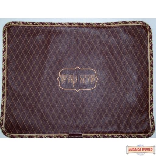 Leather Challah Cover Style CC300 BG
