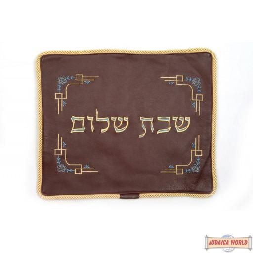 Leather Challah cover style cc520bg