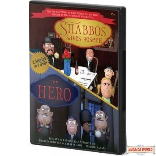 Shabbos Saves Yoseph *PLUS* The Hero DVD