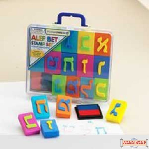 Alef Bet Stamp Set