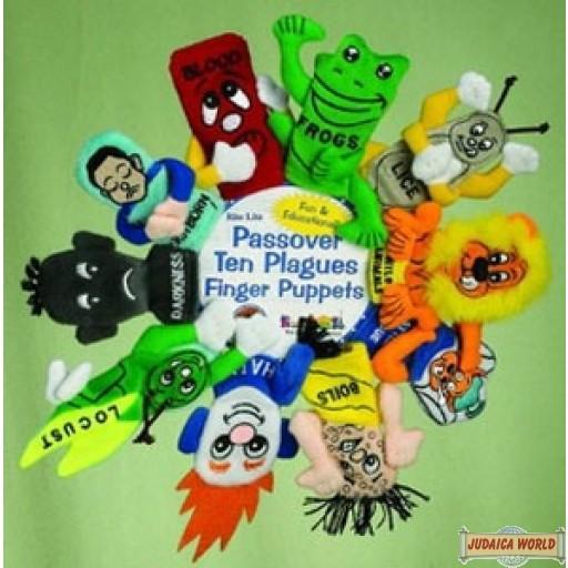 Passover Ten Plagues Finger Puppets