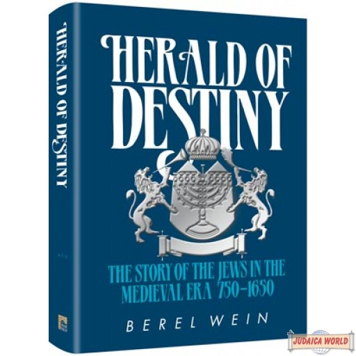 Herald of Destiny Compact Size, The story of the Jews in the medieval era 750-1650
