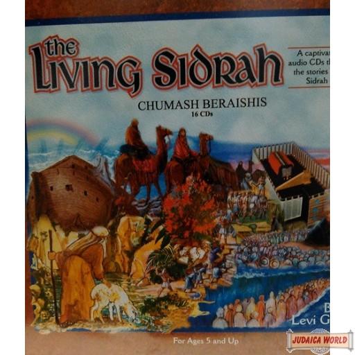 The Living Sidrah - Chumash Beraishis 16 CD set