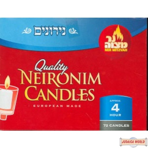 Neronim Candles - 72 - 4 hour (does not qualify for free shipping)