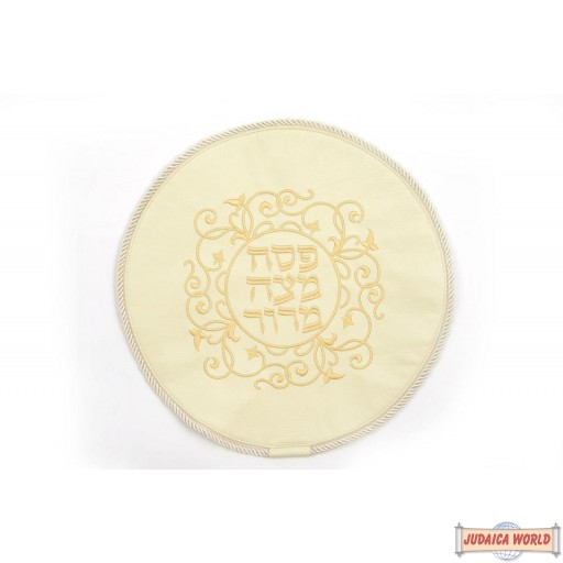 Leather Matzah Cover Style MA120CR