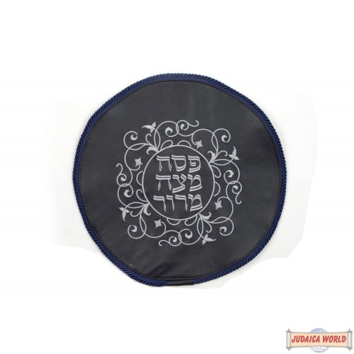 Leather Matzah Cover Style MA120NV
