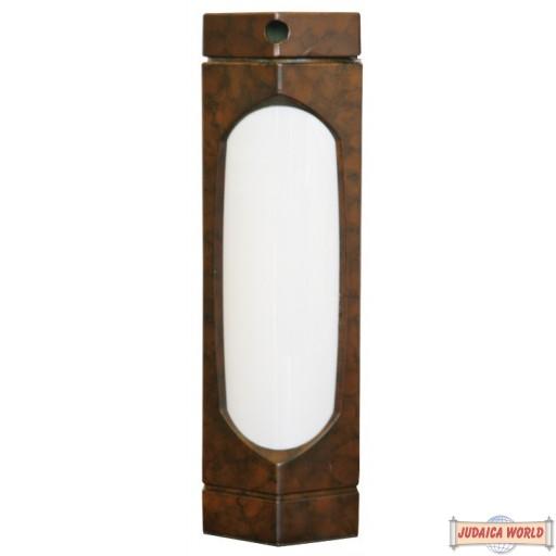Kosher Lamp, Brown Marble