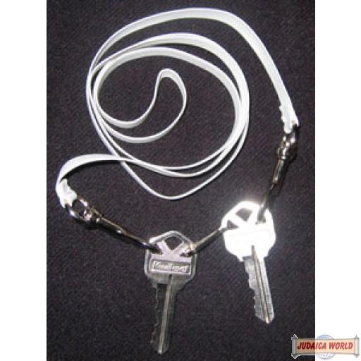 Shabbos Key Belt (Bendle) - White