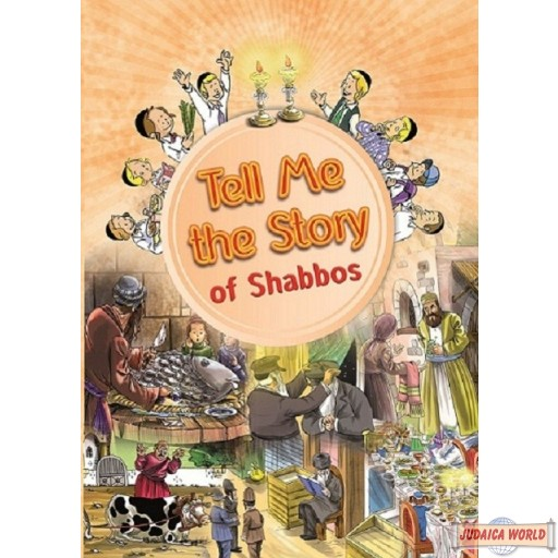 Tell Me the Story of Shabbos, Laminated Pages