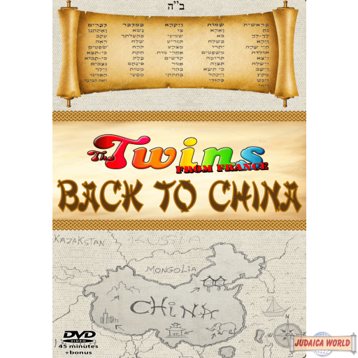 The Twins From France Back To China (#6) DVD