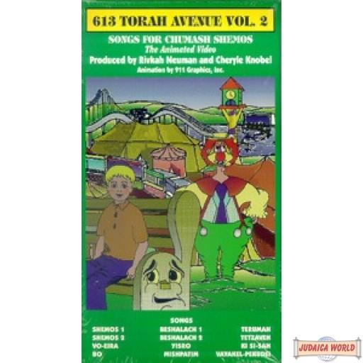 613 Torah Ave. #2 - Songs For Chumash Shemos DVD