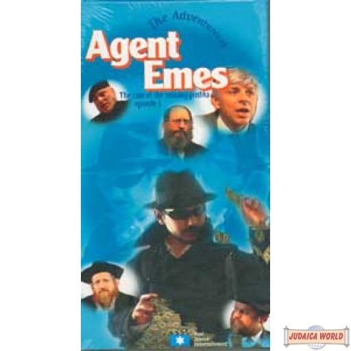 Agent Emes #3 The case of the missing Pushka DVD