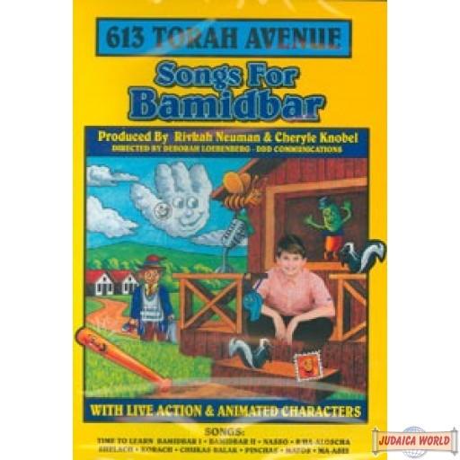 613 Torah Avenue - Songs for Bamidbar   DVD