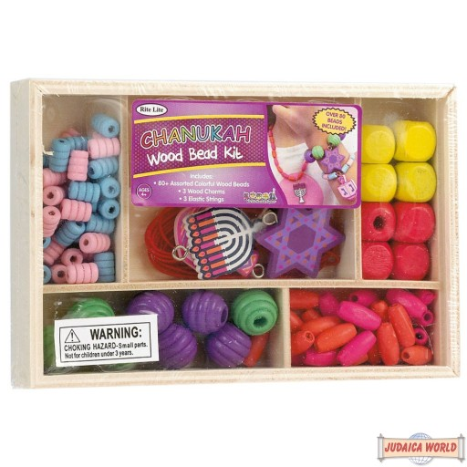 Chanukah Wood Beads Kit