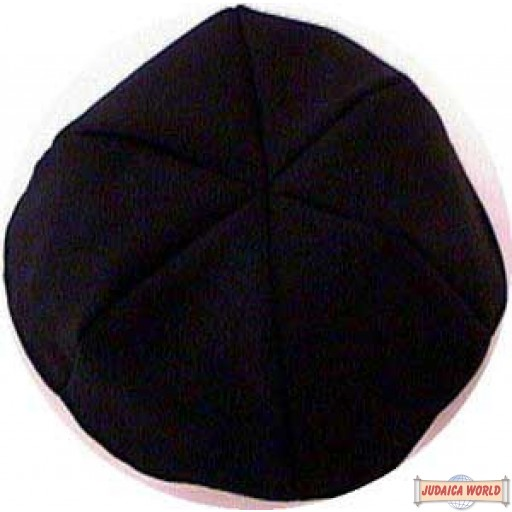 Terylene Yarmulka (6 Part Cloth kippa)