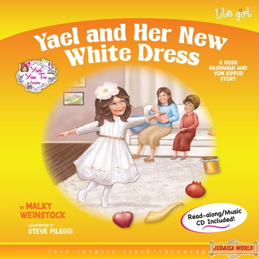 Yael and Her New White Dress Book/CD
