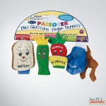 The Four Questions Finger Puppets, Set of 4