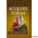 The Forty-Eight Ways to Acquire Torah