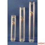 Acrylic Mezuzah Case - 10cm