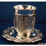 Silverplated  Becher & Tatz  grapes design