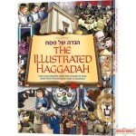 The Illustrated Haggadah Hard Cover, Fully Illustrated, With The Complete Text, Simplified Translation & Comments