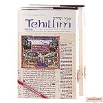 Tehillim / Psalms - 2 Volume Hardcover Set