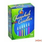 Box of Colorful Chanukah Candles -(does not qualify for free shipping when ordered in bulk due to the weight)