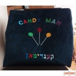 Candy Man velvet bag