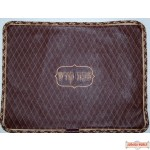 Leather Challah Cover Style CC300 BG