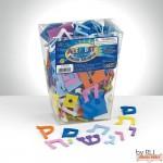 Peel & Stick Alef Bet Foam Shapes