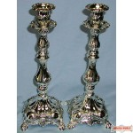 Pair of silver plated 15 Leichter